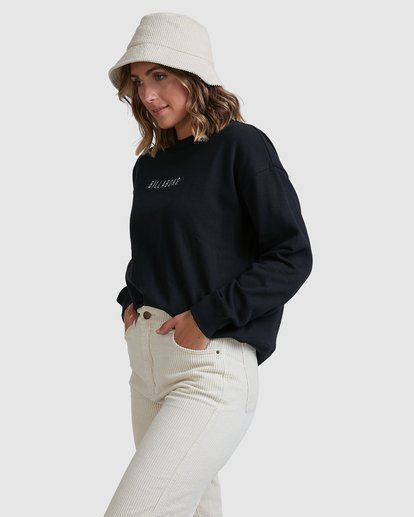 1 Vital Sweatshirt Black ABJFT00228 Billabong
