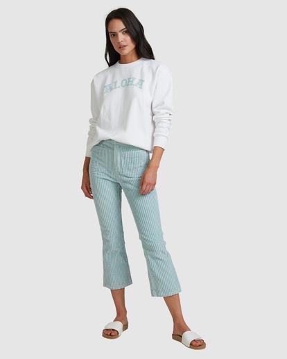 5 Aloha Crewneck Sweatshirt White ABJFT00229 Billabong