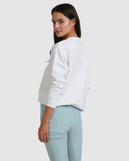 2 Aloha Crewneck Sweatshirt White ABJFT00229 Billabong