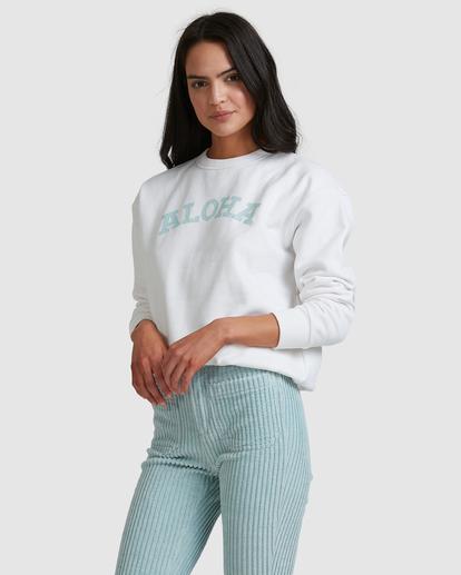 1 Aloha Crewneck Sweatshirt White ABJFT00229 Billabong