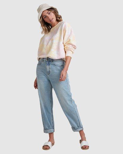 5 Tie Dye Sweatshirt Pink ABJFT00232 Billabong