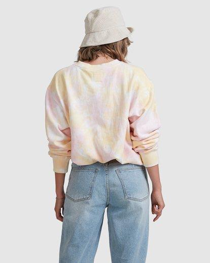 3 Tie Dye Sweatshirt Pink ABJFT00232 Billabong