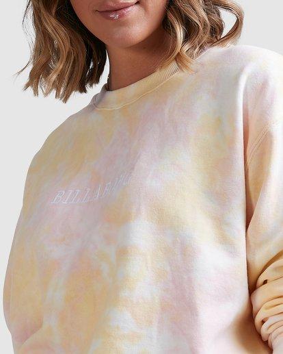 4 Tie Dye Sweatshirt Pink ABJFT00232 Billabong