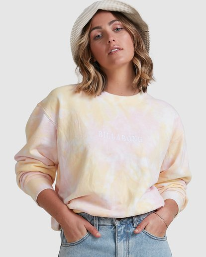 1 Tie Dye Sweatshirt Pink ABJFT00232 Billabong