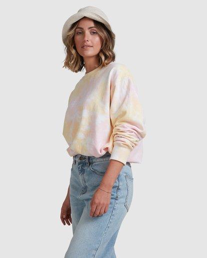 2 Tie Dye Sweatshirt Pink ABJFT00232 Billabong