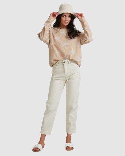 5 Tilted Palm Sweater Beige ABJFT00233 Billabong