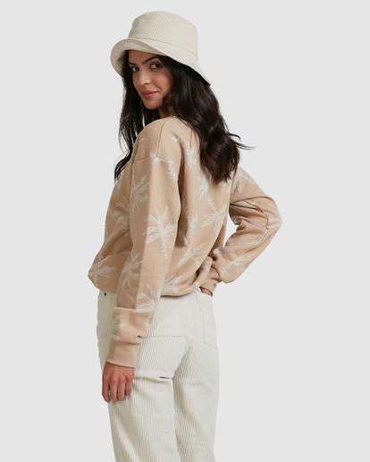 2 Tilted Palm Sweater Beige ABJFT00233 Billabong
