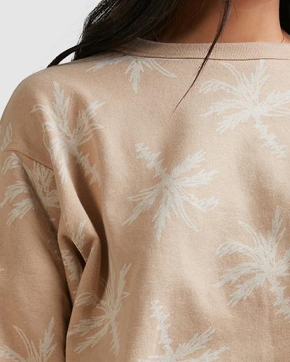 4 Tilted Palm Sweater Beige ABJFT00233 Billabong