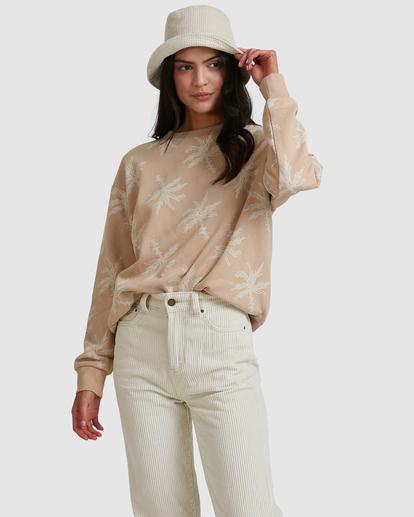 0 Tilted Palm Sweater Beige ABJFT00233 Billabong
