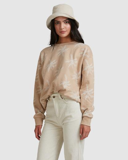 1 Tilted Palm Sweater Beige ABJFT00233 Billabong