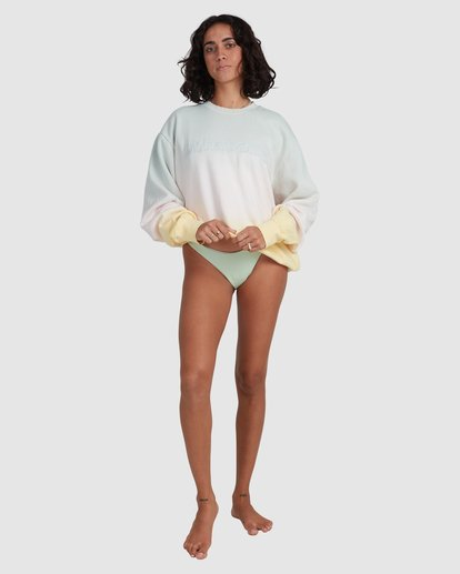 6 Keepin It Fresh Sweatshirt Green ABJFT00238 Billabong