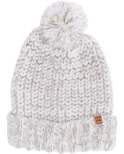 3 Below Zero Beanie White ABJHA00101 Billabong