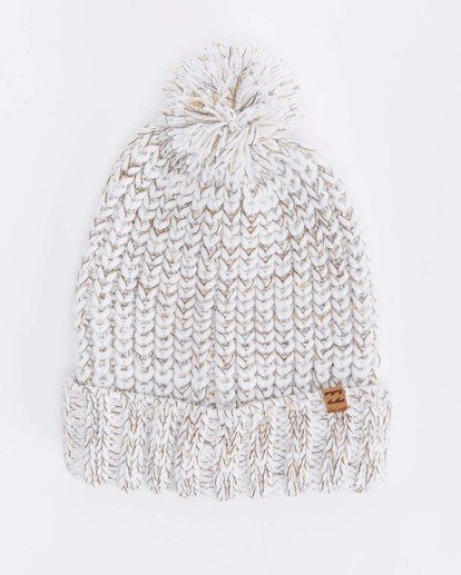 5 Below Zero Beanie White ABJHA00101 Billabong