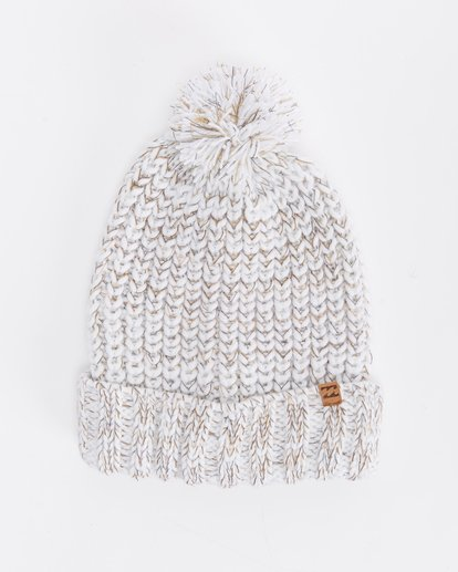 1 Below Zero Beanie White ABJHA00101 Billabong