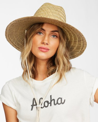 0 New Comer Straw Hat White ABJHA00114 Billabong