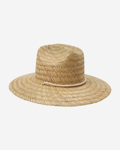 3 New Comer Straw Hat White ABJHA00114 Billabong