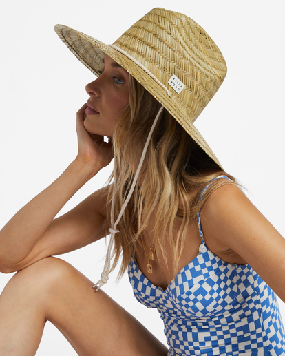 5 New Comer Straw Hat White ABJHA00114 Billabong