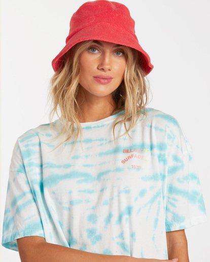 1 Summer Crush Bucket Hat Orange ABJHA00118 Billabong