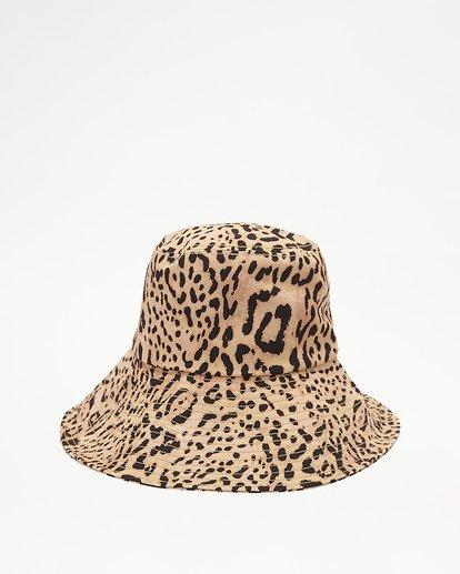 4 Direct Sun Leopard Print Bucket Hat Multicolor ABJHA00127 Billabong
