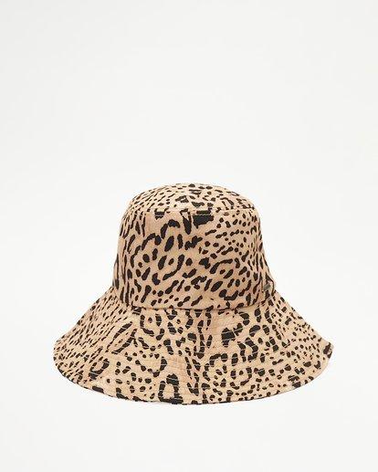3 Direct Sun Leopard Print Bucket Hat Multicolor ABJHA00127 Billabong
