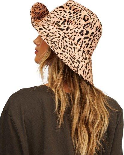 6 Direct Sun Leopard Print Bucket Hat Multicolor ABJHA00127 Billabong