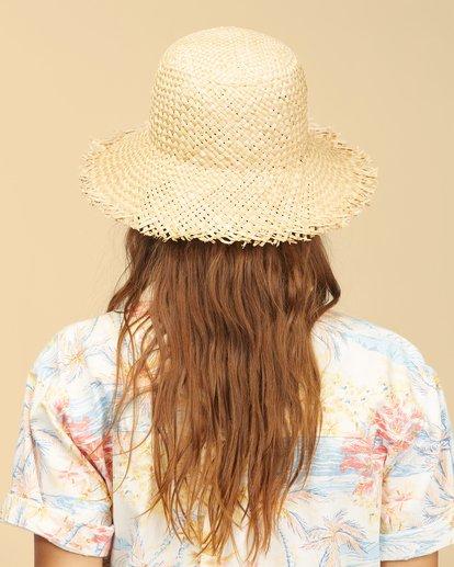 2 Wrangler Pick A Straw Hat White ABJHA00134 Billabong