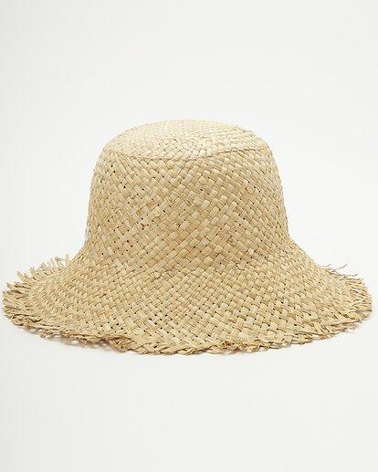 4 Wrangler Pick A Straw Hat White ABJHA00134 Billabong
