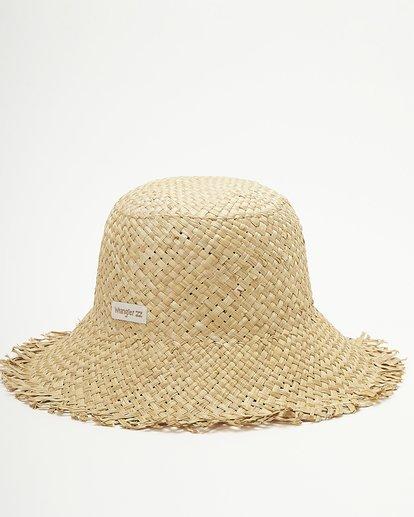 3 Wrangler Pick A Straw Hat White ABJHA00134 Billabong