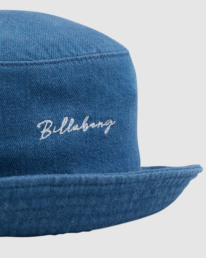 4 Be You Denim Hat - Steph Claire Smith Blue ABJHA00140 Billabong