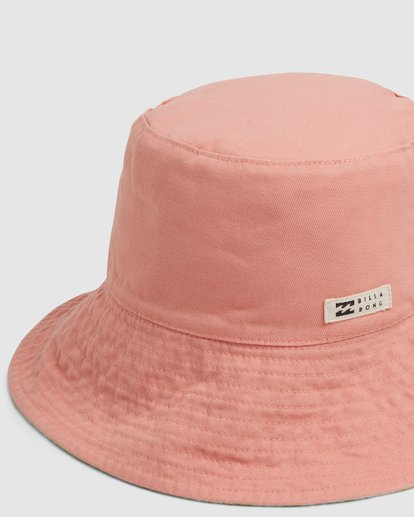 4 Sundrenched Reversible Bucket Hat Orange ABJHA00151 Billabong