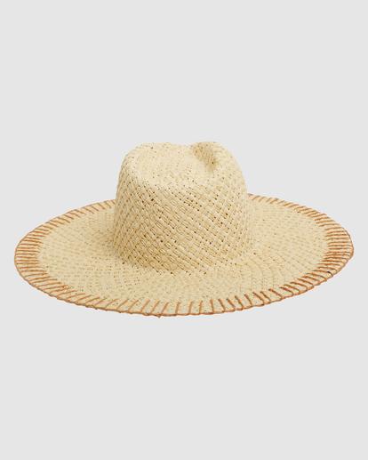 3 Stitched Straw Hat White ABJHA00165 Billabong