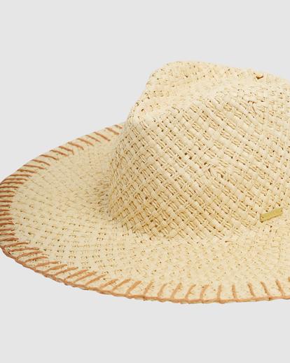 4 Stitched Straw Hat White ABJHA00165 Billabong