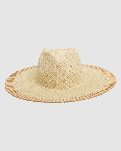 1 Stitched Straw Hat White ABJHA00165 Billabong
