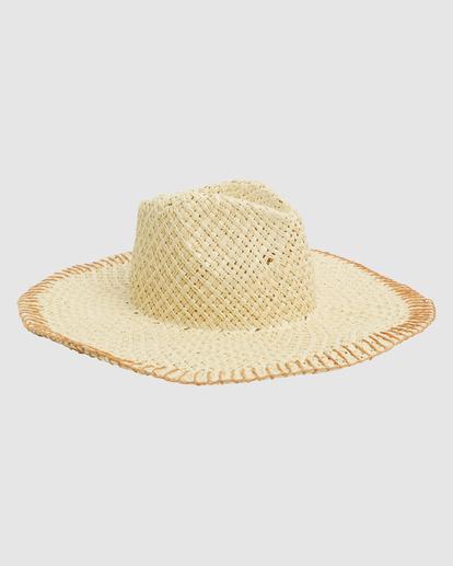 2 Stitched Straw Hat White ABJHA00165 Billabong