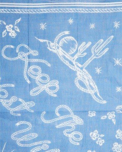 6 Wrangler West Coast Bandana Blue ABJHW00102 Billabong