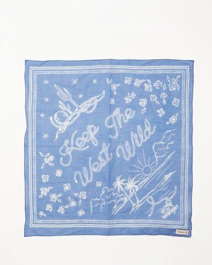 3 Wrangler West Coast Bandana Blue ABJHW00102 Billabong
