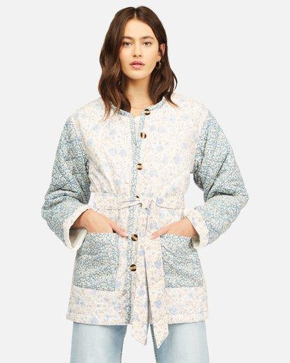 4 Perfect Match Quilted Jacket Grey ABJJK00129 Billabong