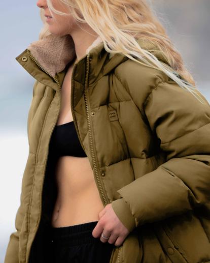 1 A/Div Artic Shores Zip-Up Jacket Green ABJJK00137 Billabong