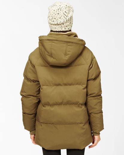 4 A/Div Artic Shores Zip-Up Jacket Green ABJJK00137 Billabong