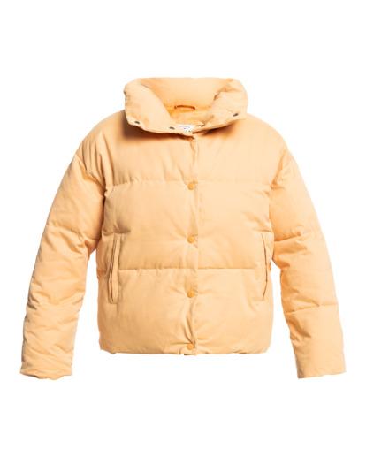 4 Good Friends Button-Up Puffer Jacket Orange ABJJK00145 Billabong