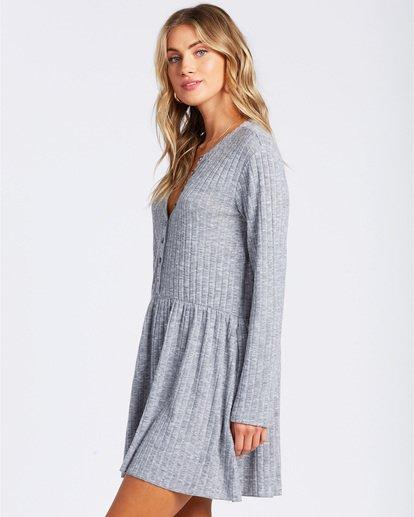 1 Always Lounging Dress Grey ABJKD00109 Billabong
