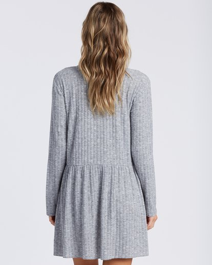 5 Always Lounging Dress Grey ABJKD00109 Billabong