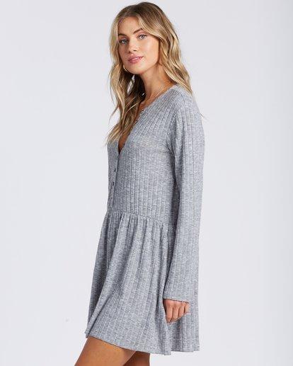 4 Always Lounging Dress Grey ABJKD00109 Billabong