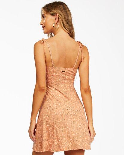 2 Sunny Bliss Mini Dress Brown ABJKD00129 Billabong