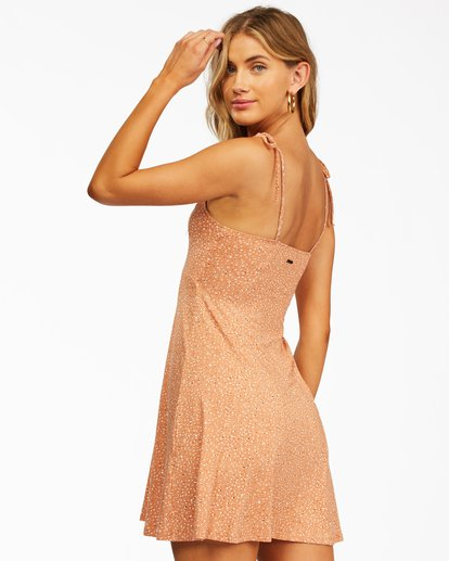 1 Sunny Bliss Mini Dress Brown ABJKD00129 Billabong