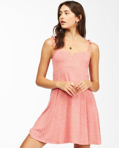 1 Sunny Bliss Mini Dress Red ABJKD00129 Billabong