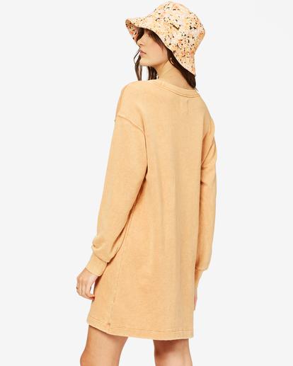 2 Sandy Dreams Sweatshirt Dress Brown ABJKD00154 Billabong