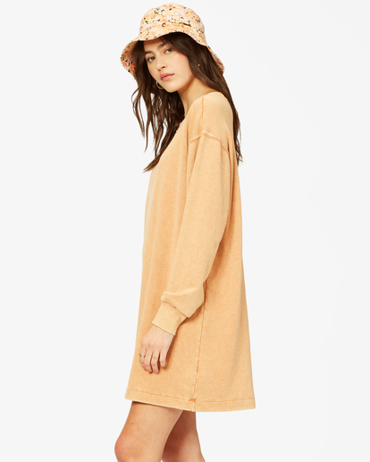 1 Sandy Dreams Sweatshirt Dress Brown ABJKD00154 Billabong