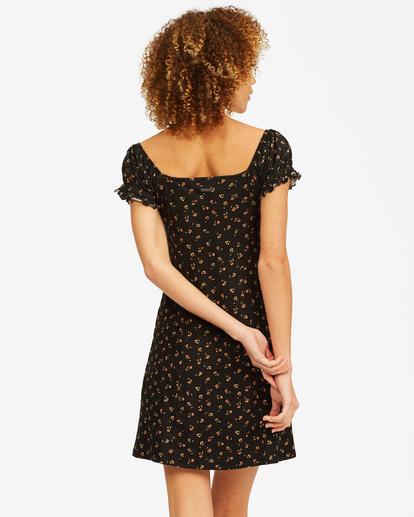 2 Forever Flirty Sweetheart Mini Dress Black ABJKD00155 Billabong
