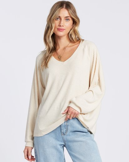1 Cozy For You Top White ABJKT00119 Billabong